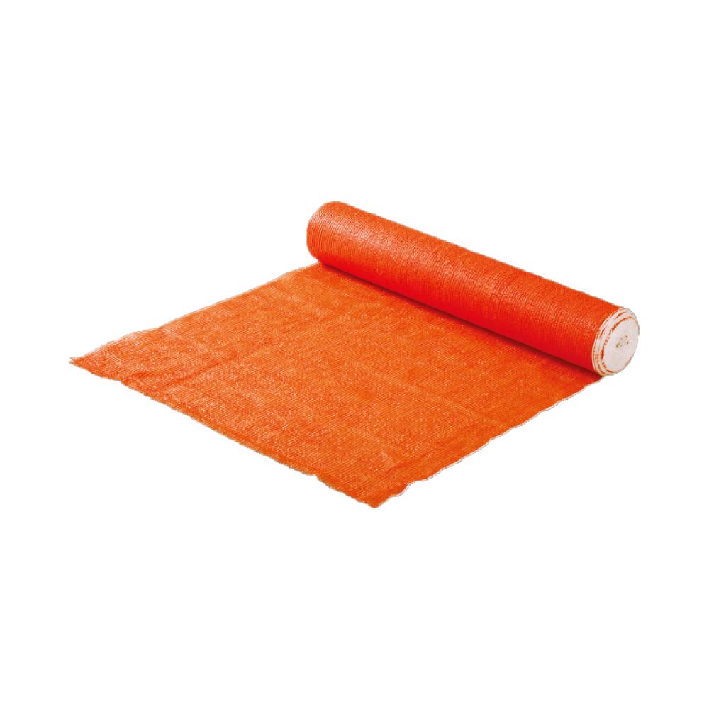 オレンジネットフェンス 5本セット 1m×50m(工事用仮設ネット ネットフェンス・メッシュフェンス)