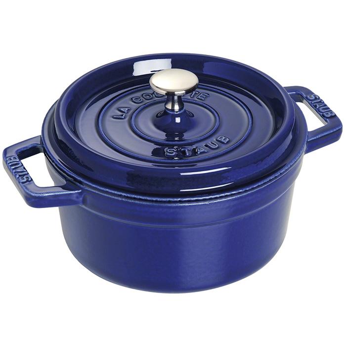 ストウブ ピコ ココット ラウンド 20cm 2.20L ダークブルー 1102091 ( 40510-264-0 ) ホーロー 鍋 なべ あす楽 対応