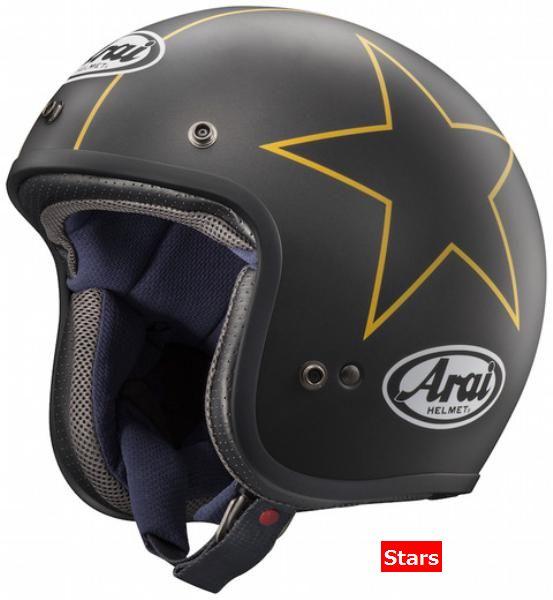 4月28日AM1時59分まで!お買物マラソン!ポイント5倍!ダブルエントリーで最大15倍!! (ヘルメット バイク) ARAI (アライ) CLASSIC-MOD (クラシックモッド) へルメット スターズ/L(59-60)サイズ