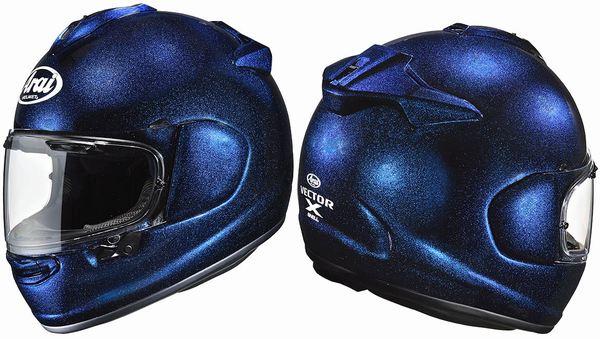 (ヘルメット バイク) ARAI (アライ) Vector-X (Vector X ベクターX ベクター-X ベクターエックス) グラスブルー ヘルメット 東単オリジナル (返品 交換 キャンセル不可商品) (欠品あり 次回入荷予定未定)