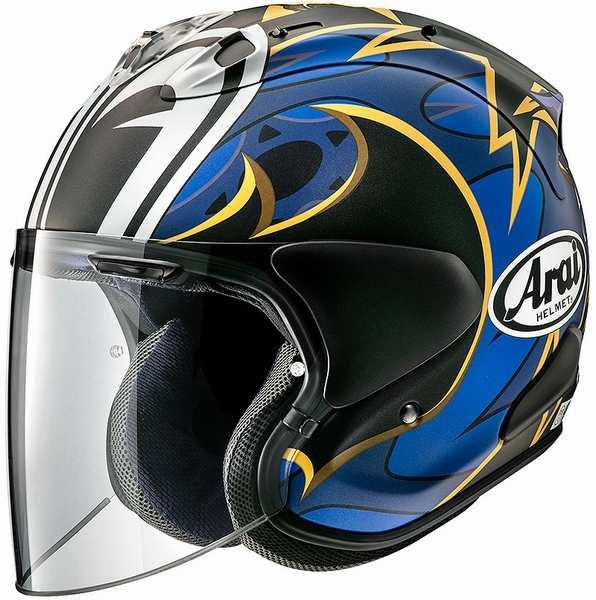 (ヘルメット バイク) ARAI (アライ) VZ-RAM NAKASUGA21 (ナカスガ21) へルメット ナカスガ21/XL(61-62)サイズ