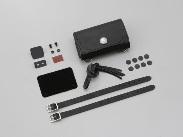 デイトナ 革鎧ETCケース 汎用 ブラック ブラック 91049