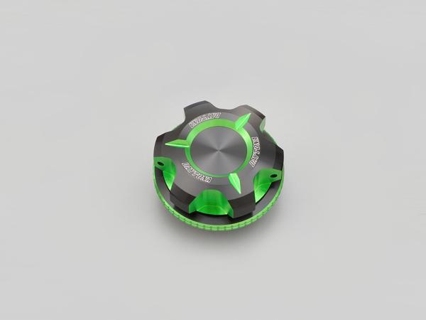 デイトナ PREMIUM ZONE オイルフィラーキャップM30XP1.5 ライムグリーン 91913