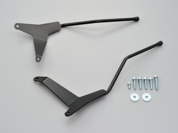デイトナ サイドバッグサポートセット【左右】 黒塗装 92379