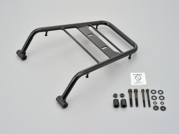 デイトナ グラブバーキャリア KLX250/D-TRACKER X('08~)FIモデル用 積載部分寸法:長さ約292×幅(前側)266×幅(後側)195(mm) 93920