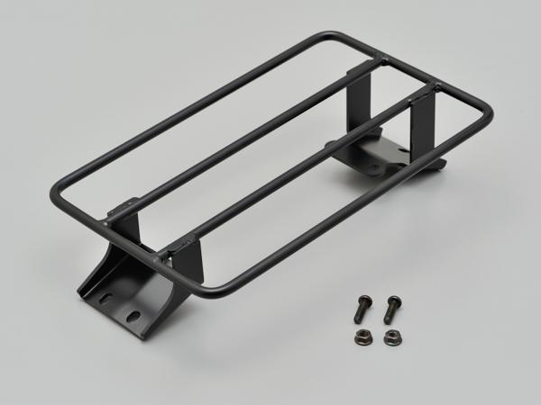 デイトナ フラットキャリア DS250用 スチール製黒塗装仕上げ 積載部寸法:縦300×横181(mm) 97424