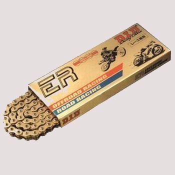 11月10日PM23時59分迄!お買物マラソン最大10倍!エントリーと弊社購入でポイント5倍!!最大ポイント15倍!! DID チェーン 520ERS 2 GOLD 110L (ディーアイディー ドライブ チェーン イーアールエス 2 ゴールドプレイト ノン シールレース 専用チェーン)