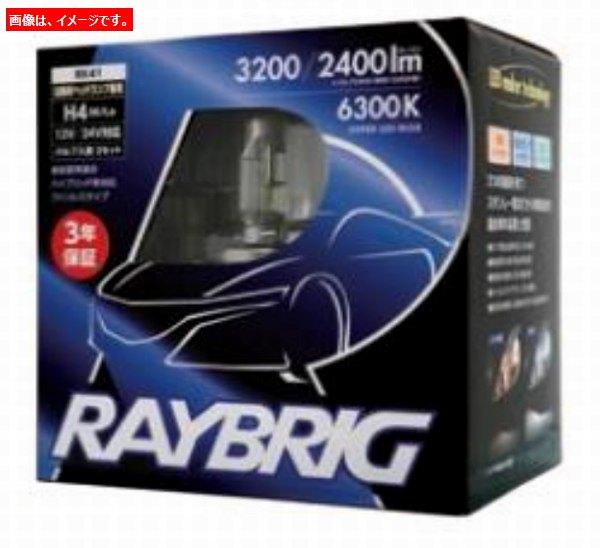 Stanley (スタンレー) Raybrig (レイブリッグ レイブリック) LEDヘッドライトバルブ 2本セット RK41 H4 12V・24V 21W/21W 3200/2400ルーメン 6300ケルビン 四輪車用 (返品 交換 キャンセル不可商品)