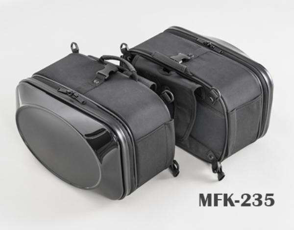 TANAX (タナックス) MFK-235 ブラック ミニシェルケース (スポーツ) (サイドバッグ サドルバッグ)