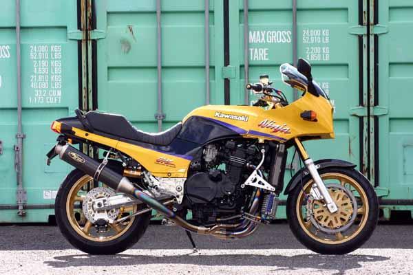 NOJIMA ENGINEERING (ノジマエンジニアリング) FASARM R チタン フルエキゾースト 4-1SC(スパイラルコレクター) チタンエキゾーストパイプ/カーボンサイレンサー KAWASAKI (カワサキ) GPZ900R Ninja(ALL) NTPX604VC