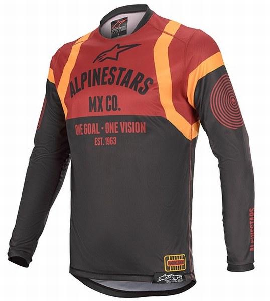 2020 Alpinestars (アルパインスターズ) (オフロード) RACER TECH (レーサーテック) FLAGSHIP (フラッグシップ) MXジャージ MXパンツ 3762220-9314 ダークグレー/ブラック/オレンジ 3722220-111 ブラック/ボルドー/オレンジ