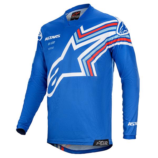 2020 Alpinestars (アルパインスターズ) (オフロード) RACER BRAAP (レーサーブラー) ユース (子供用 Kids) MXジャージ MXパンツ 上下セット ブルー/オフホワイト 3771420-7250 3741420-7250