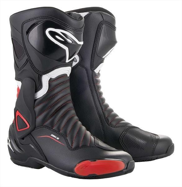 通販 Alpinestars アルパインスターズ オンロード SMX メーカー公式 6 V2 RED BLACK 43 BOOT 13 3017