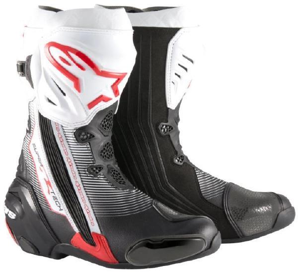 4月28日AM1時59分まで!お買物マラソン!ポイント5倍!ダブルエントリーで最大15倍!! Alpinestars (アルパインスターズ) (オンロード) SUPERTECH-R BOOT 0015 132 BLACK RED WHITE 39