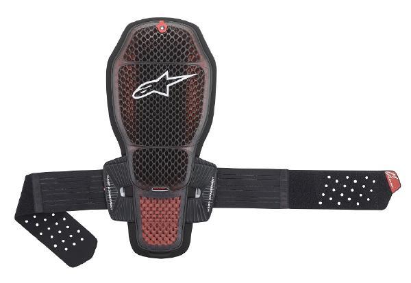 4月28日AM1時59分まで!お買物マラソン!ポイント5倍!ダブルエントリーで最大15倍!! Alpinestars (アルパインスターズ) (オンロード) NUCLEON KR-R CELL BACK PROTECTOR 09TRANSPARENT SMOKE RED BLACK M