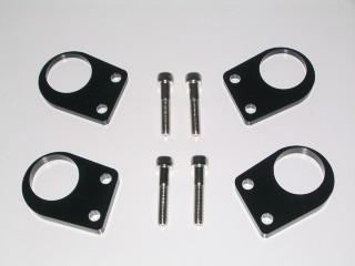 K's-Style (ケーズスタイル ケイズスタイル) ハンドルアップスペーサー ブラック カワサキ Ninja250R (ニンジャ250R) 2008-2012 (受注生産商品) (返品 交換 キャンセル不可商品) (送料が別途1000円掛かります)