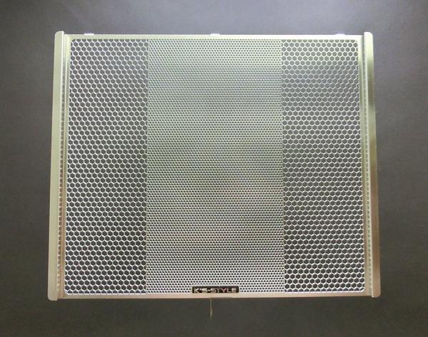 K's-Style (ケーズスタイル ケイズスタイル) ラジエターコアガード シルバー カワサキ ZX-6R (636) 2013-2016 RGK-ZX6-01 (返品 交換不可商品) (送料が別途1000円掛かります)