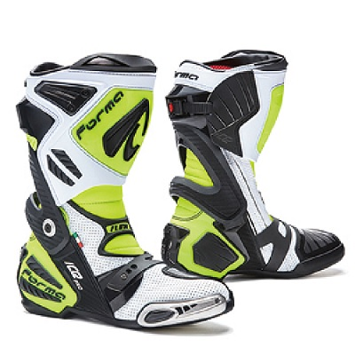 FORMA (フォーマ) ICE PRO FLOW WHITE/BLACK/YELLOW FLUO 44(27.5cm) ブーツ