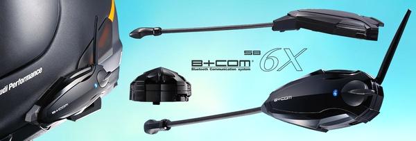 サインハウス B+COM (ビーコム) SB6X ブルートゥースコミュニケーションシステム (インカム) ペアユニット (返品 交換 キャンセル不可商品)