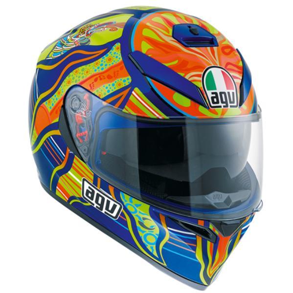 AGV K-3 SV (K3 SV) ヘルメット FIVE CONTINENTS (ファイブコンティネンツ ファイブコンチネンツ) サンバイザー標準装備 ピンロックシート付属 SG規格 (返品 交換不可商品) (日本代理店正規品) (欠品あり 次回入荷予定未定)
