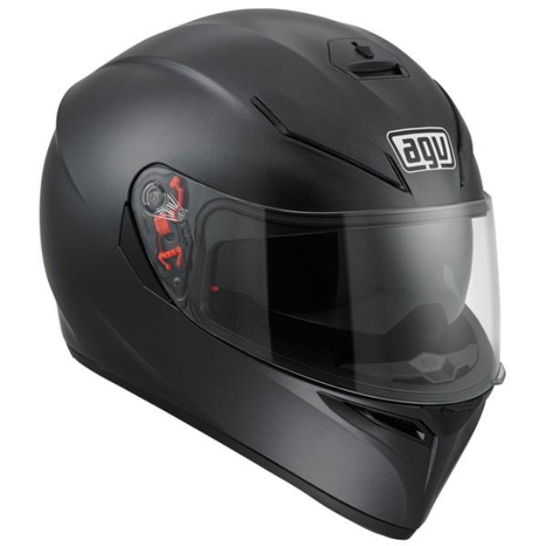 AGV K-3 SV MPLK (K3 SV MPLK) ヘルメット MATTE BLACK (マットブラック) サンバイザー標準装備 ピンロックシート付属 SG規格 (返品 交換不可商品) (日本代理店正規品) (欠品中 次回入荷予定2020年5月中旬以降)
