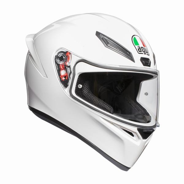 お買物マラソンとポイント5倍!ダブルエントリーし購入でポイント最大15倍!! AGV K1 (K-1) ヘルメット ホワイト SG規格 (返品 交換不可商品) (日本代理店正規品)