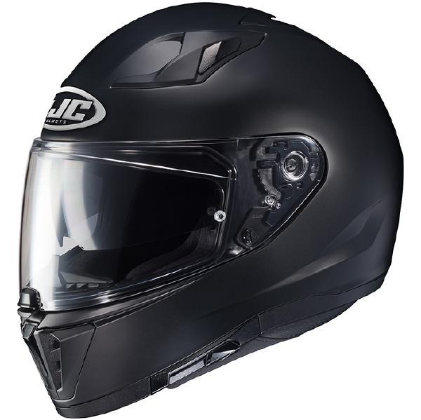 4月28日AM1時59分まで!お買物マラソン!ポイント5倍!ダブルエントリーで最大15倍!! HJC ヘルメット i70 ソリッド HJH169 SEMI FLAT BLACK XL