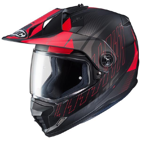 HJC ヘルメット DS-X1 グラビティ HJH161 RED(MC1SF) L