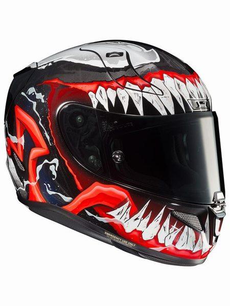 4月28日AM1時59分まで!お買物マラソン!ポイント5倍!ダブルエントリーで最大15倍!! HJC ヘルメット MARVEL RPHA 11 VENOM 2 HJH166 VENOM.2(MC1) S