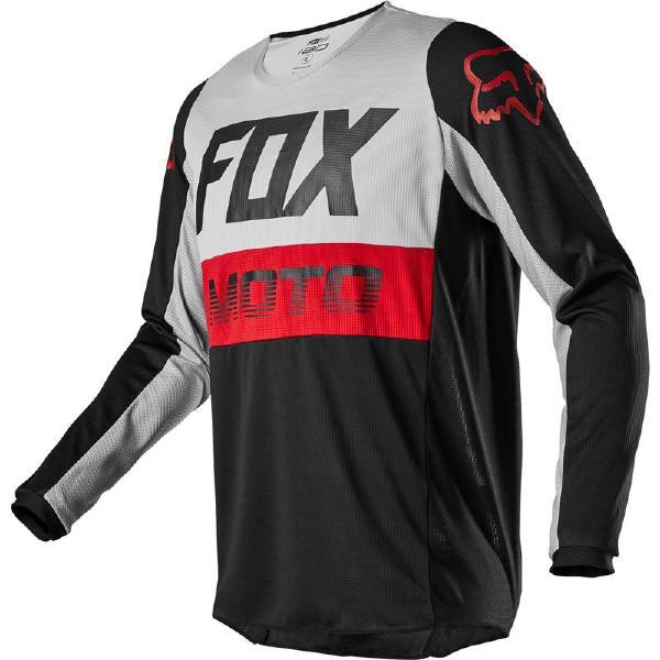 4月28日AM1時59分まで!お買物マラソン!ポイント5倍!ダブルエントリーで最大15倍!! 2020 Fox (フォックス) 180 FYCE MXジャージ MXパンツ 上下セット グレー