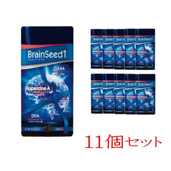 【BENESEED(ベネシード)】新商品!ブレインシード・ワン 10個+1個 11個セット 賞味期限 2020.1