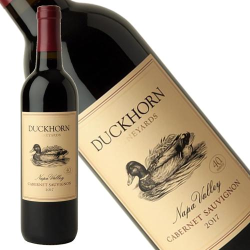 みずみずしく エネルギッシュで力強い ゴージャスという言葉がぴったりのワイン ダックホーン 当店一番人気 カベルネ ソーヴィニヨン ナパ ヴァレー 750ml 2017年 辛口 ヴィンヤーズ 新作製品、世界最高品質人気! ギフト対応 正規品 赤ワイン