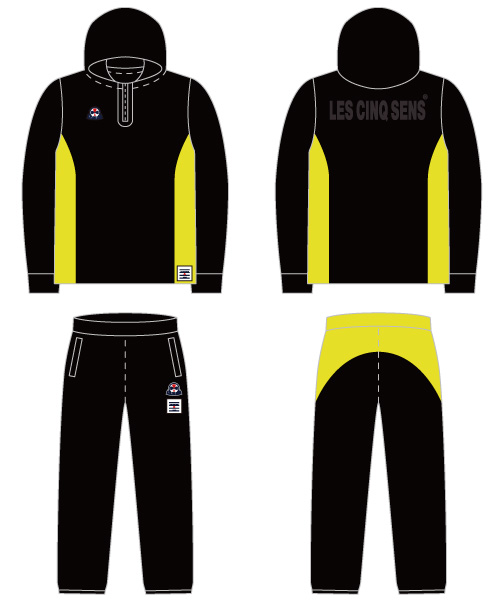 Bonding training suit