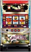 トゥームレイダー(ホワイト)|コイン不要機つきスロット実機|パチスロ 実機:スロット実機販売leslo