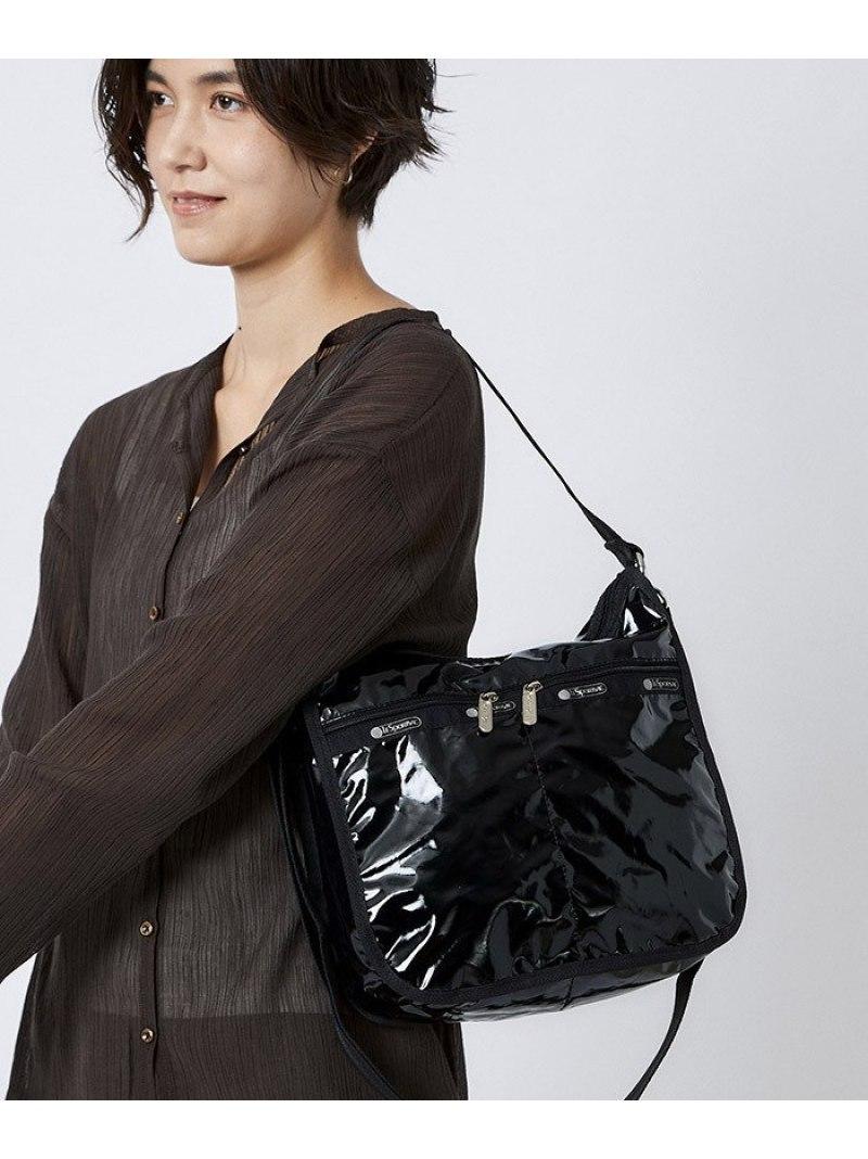 BLACK PATENT SIL gift_202012 LeSportsac ユニセックス バッグ レスポートサック U 70%OFFアウトレット ショルダーバッグ 2764E236 Fashion Rakuten 送料無料 新品 ブラック