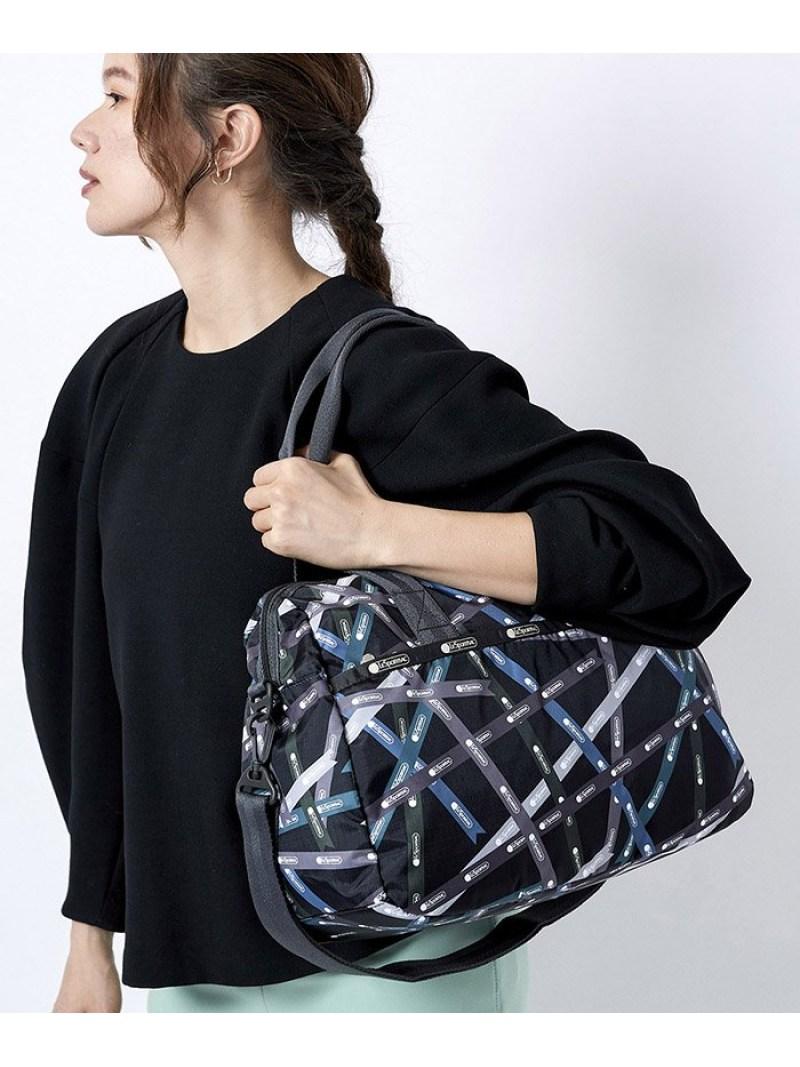 LeSportsac ユニセックス 人気ブランド バッグ レスポートサック U トートバッグ ブラック Rakuten Fashion 購入 送料無料 3356U087