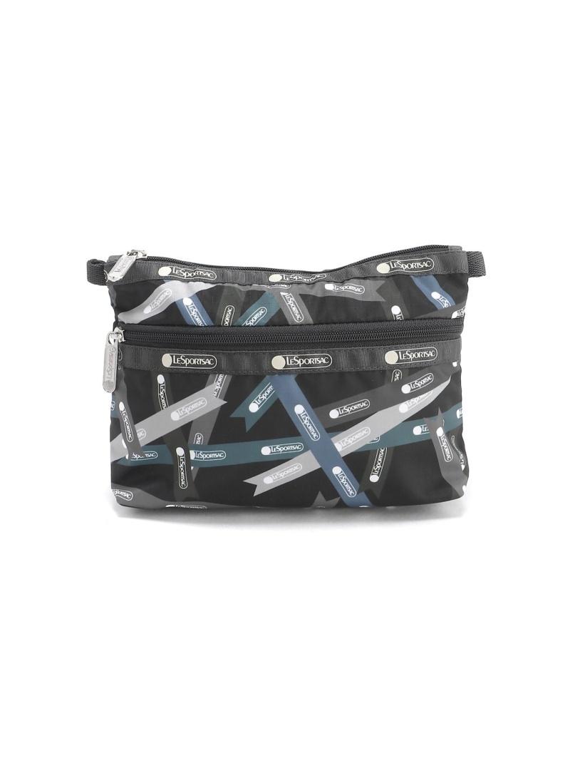 LeSportsac ユニセックス バッグ レスポートサック 現金特価 U ブラック ポーチ Rakuten Fashion 7105U087 舗