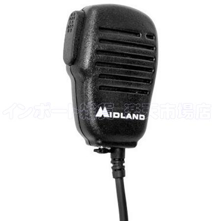 MIDLAND ミッドランド AVPH10 1個 スピーカーマイク イヤホンマイク イヤホン マイク ヘッドセット