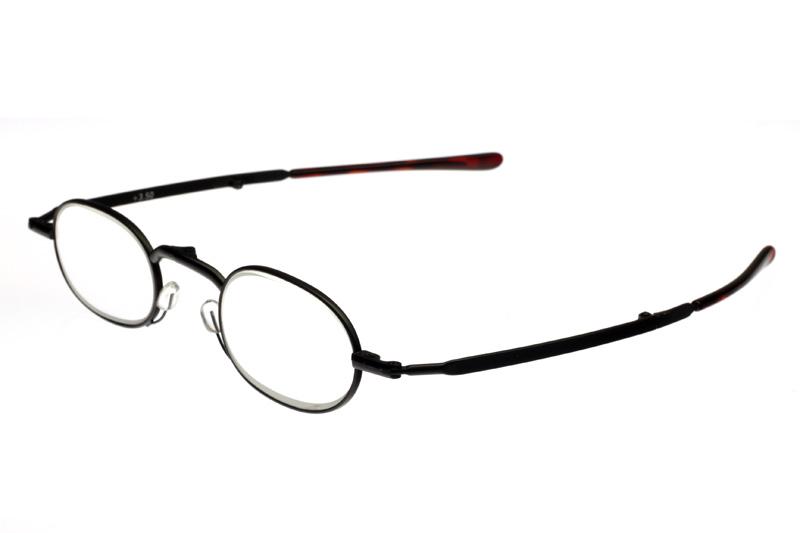 【デザイン老眼鏡】スペックフォールド ブラック[R-AA-2012]【アイマジン EYEMAGINE】【男性】【女性】【おしゃれ】【折りたたみ】