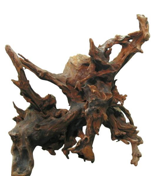 大型変形流木切り株根 h275 DIYガーデニング園芸工作爬虫類用インテリア店舗ディスプレイや撮影用に 、そのまま使えるきれいに処理された流木素材 【送料無料】