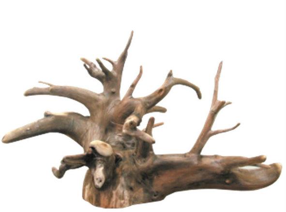 大型切り株流木根 h335 インテリア店舗ディスプレイ用ガーデニング園芸華材撮影用爬虫類用流木素材
