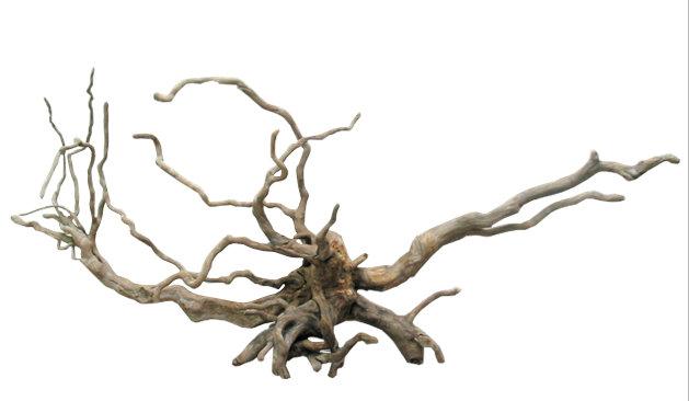 大型流木根 h342 ディスプレイ用 アクアリュウム用 ガーデニング園芸材 撮影用 爬虫類用流木素材