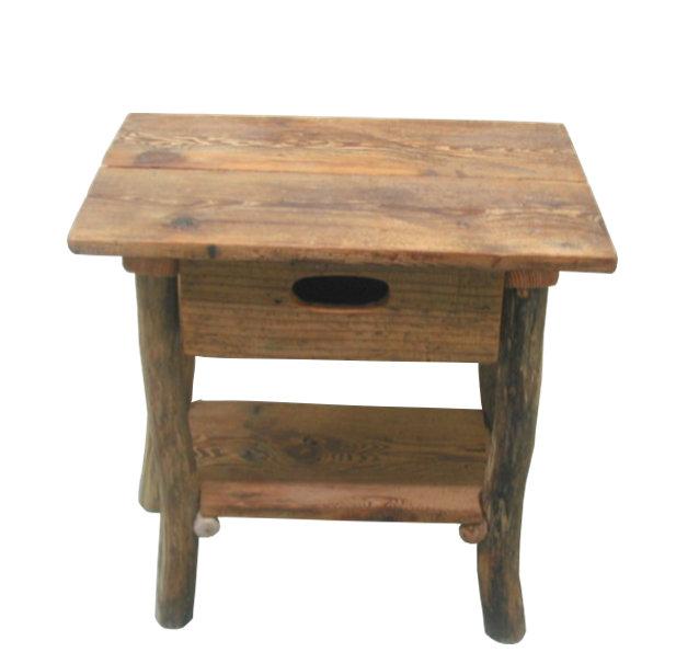 希少な古材を使ったレトロ風な引出し付きデスクタイプ流木ディスプレイ棚[ka100]インテリア家具 店舗什器