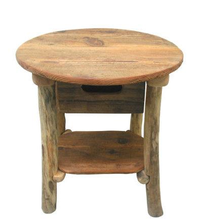 希少な古材を使ったレトロ風な引出し付きテーブルタイプ流木ディスプレイ棚[ka103]インテリア家具 店舗什器