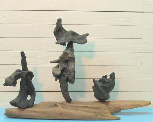 ディスプレイ用流木オブジェ kc26 流木アートのレットイットビーのインテリア店舗用流木オブジェ【送料無料】