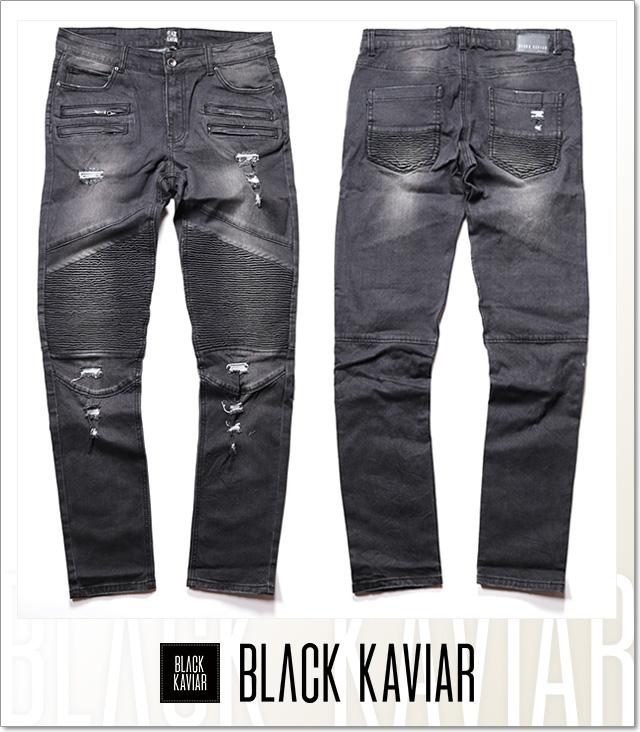(ブラックキャビア) BLACK KAVIAR GESCAPE (LS:PANTS)(COLOR:BK) ボトムス ロングパンツ 国内正規品