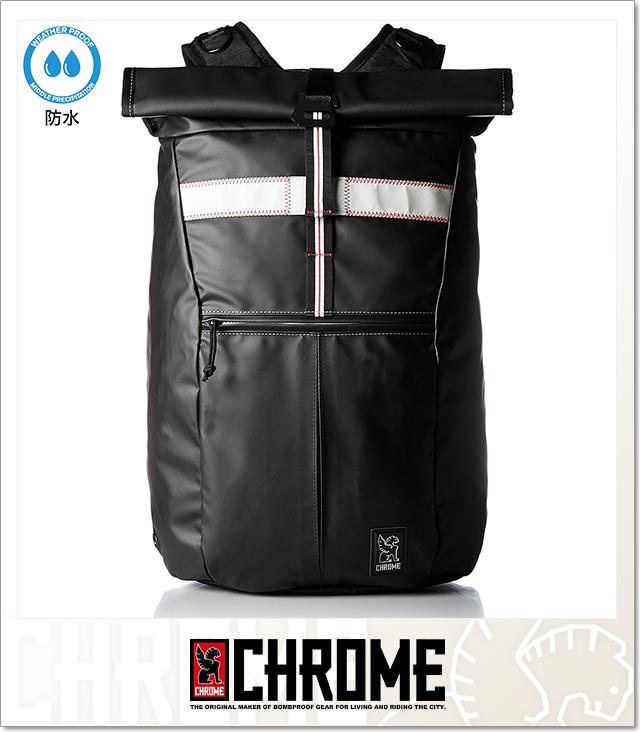 (クローム) CHROME RUBBERIZED YALTA (BAG)(BG188-BK) バッグ 鞄 リュック デイパック 国内正規品