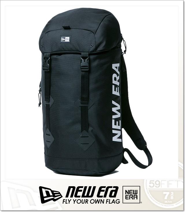 (ニューエラ) NEWERA RUCKSACK PRINT LOGO (BAG)(COLOR:BK) バッグ 鞄 リュック ラックサック 国内正規品