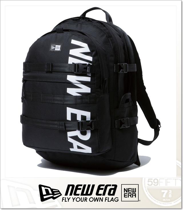 (ニューエラ) NEWERA CARRIER PACK (BAG)(COLOR:BK) バッグ 鞄 リュック キャリアパック 国内正規品