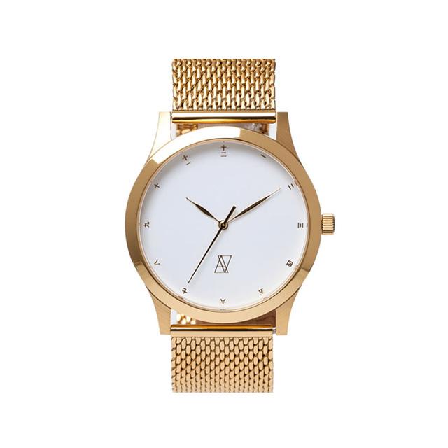 (アライブアスレティックス) ALIVE THE CLASSICS METAL (WATCH)(COLOR:GOLD×WHITE) ウオッチ 時計 国内正規品